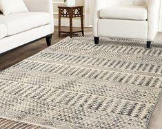 Handmade Rug / Carpet / Vintage Kantha Quilts by IndianWomensCrafts Dhurrie Rugs, Kilim Rugs, Anthropologie Rug, West Elm Rug, 8x10 Area Rugs, Indian Rugs, Rustic Rugs, Rugs On Carpet, Carpets