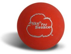 Sky Bounce 3912 Red Sky Bounce Ball - 12 Count by Sky Bounce. $16.45. Original Sky Bounce Ball, 2.25in diameter hollow rubber. Sold by the dozen in a bag. Great for one wall handball, stickball, racquetball and other games.