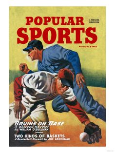 9715697776 Vintage Art - Baseball Sports Games