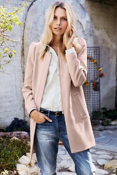 Pink coat h&m – Novelties of modern fashion photo blog