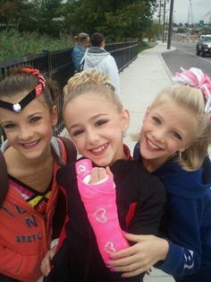Brooke, Chloe and Paige