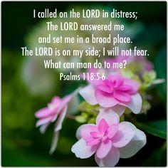 Psalm 118:5-6