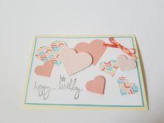 Geburtstagskarte von Herzen DIY - Happy Birthday