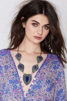 Vanessa Mooney Izusa Lapis Necklace