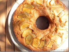 Vegan Apple Ring Cake