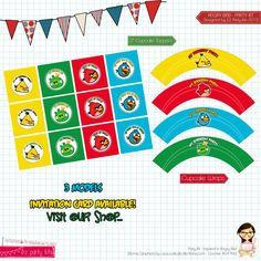 Happy Birthday Angry Birds Birthday Party  by EZ PARTY KITS