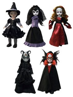 Living Dead Dolls Season of the Witch Serie 26 Samhain Lamenta Lammas Beltane ..