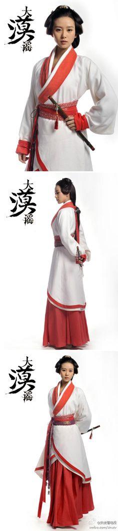 Ballad of the Desert 大漠谣 (Da Mo Yao). Also called Song of the Desert. Starring Liu ShiShi, Hugh (Hu Ge) & Eddie Peng.