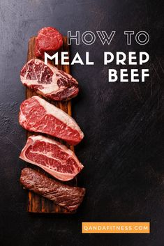 Cooking your own meals from scratch is a healthy and economical way of eating - however, it can take up a lot of time. Meal prepping is a great alternative. Check out this comprehensive guide to meal-prepping beef - QandA Fitness - #fitness #MealPrep #HealthyEating