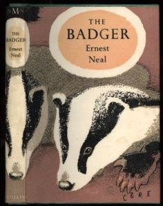 The Badger (Collins New Naturalist Series): Amazon.co.uk: Ernest G. Neal: Books
