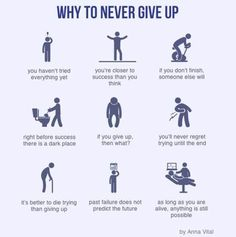 9 reasons to never give up