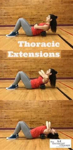 The Best Posture Correction Exercises to Fix Your Body Quickly - The White Coat Trainer Posture Correction Exercises, Posture Stretches, Stretches For Flexibility, Flexibility Workout, Fix Your Posture, Better Posture, Bad Posture, Improve Posture, Foam Roller Exercises