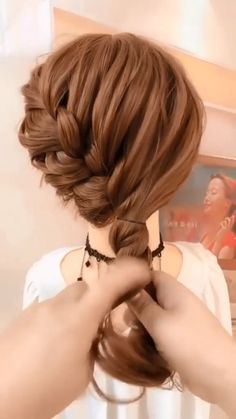 Easy Hairstyles For Long Hair, Up Hairstyles, Braided Hairstyles, Medium Length Hairstyles, Updos For Medium Length Hair Tutorial, Step By Step Hairstyles, Medium Hair Styles, Short Hair Styles, Hair Upstyles
