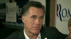 Romney says poor have a 'safety net'