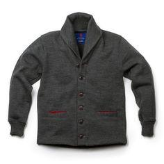 Best Made x Dehen Shawl Neck Sweater Coat