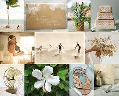 gorgeous hawaiian wedding inspiration board