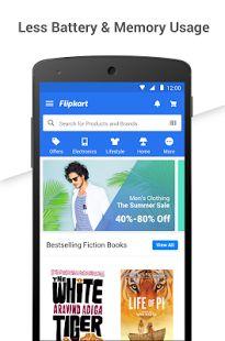 Flipkart Online Shopping-skjermdump – miniatyrbilde
