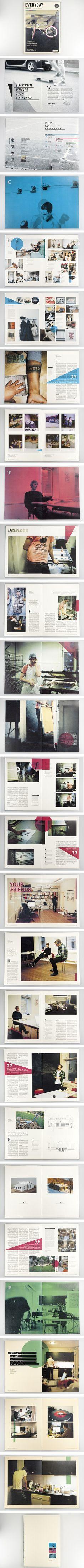 Everyday Magazine : Mikael Fløysand