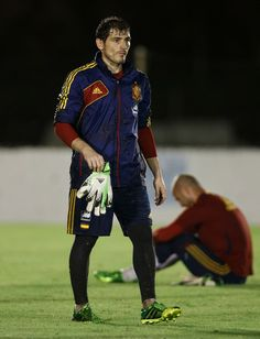 Iker Casillas - Spain Training and Press Conference