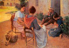 março | 2014 | ARTECULTURA rceliamendonca.wordpress.com1024 × 719Buscar por imagen Italian Family -1900- Elin Danielson-Gambogi (finnish painter) ...................................... william henry margetson paintings - Buscar con Google