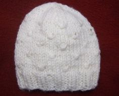 Wrapped Stitched Baby Hat