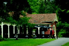 #Pavillion Cafe in #Hepburn Springs