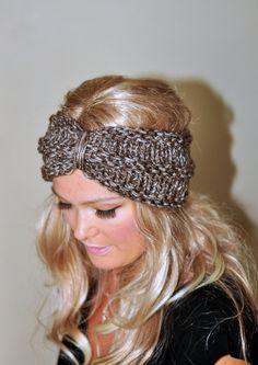 Turban Headband Crochet Ear Warmer