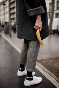 banana family #banana & i #AMWhiteSneakersAddict