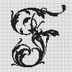 alphabet F leafy glade