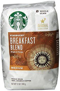 Starbucks Breakfast Blend Whole Bean Coffee (Medium), 12 oz - http://teacoffeestore.com/starbucks-breakfast-blend-whole-bean-coffee-medium-12-oz/