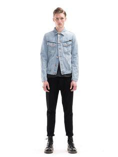 Billy Strumming Indigo Denim - Nudie Jeans
