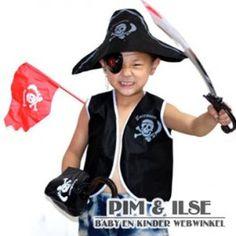 Piraten kostuum $12.00