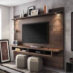 Image result for painel de tv sala