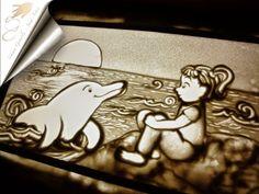Sand Art, new friend