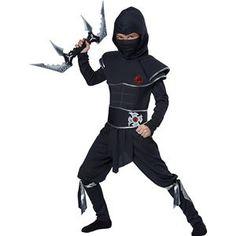 Ninja Warrior Child Costume - 352662 | trendyhalloween.com #trendyhalloween #childrenscostumes