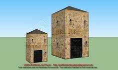 Edificios de Papel: Maqueta de Papel 1506: Torre en 2 tamaños - Tower ... Os ofrecemos dos tamaños para esta maqueta disponible en las 6 escalas habituales. Se trata de una torre de piedra, con tejado que, en sus dos formatos, puede usarse en multitud de escenografías, de diversas épocas.