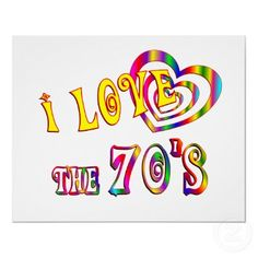 I Love the 70's, I would go back in a minute!