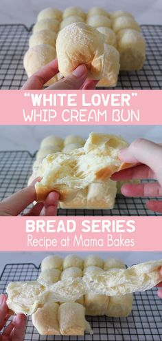 A super soft and rich whip cream bun that is super easy to make with only ONE TIME FERMENTATION! These buns are not only soft in texture and rich in taste, they look great, too! With a pure appearance, they look as soft and fluffy as clouds!