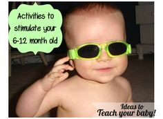 Teach your baby 6-12 months
