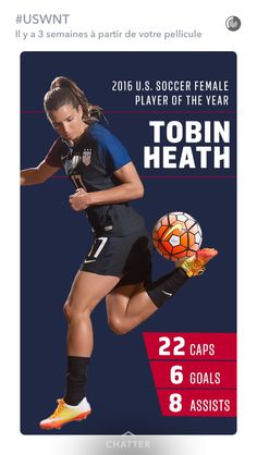 Tobin Heath Player of the year 2016 8df461335