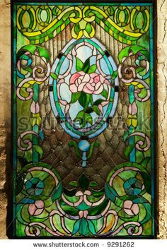 Beautiful Stained Glass Window Leaded Glass Stained Glass Art Fused Glass Stained