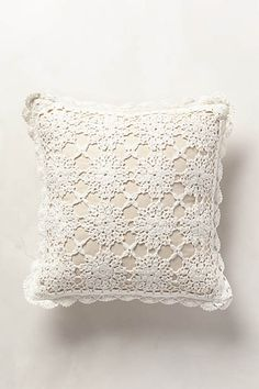 Istria Crocheted Pillow