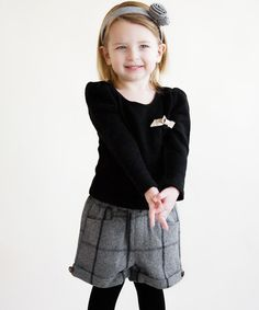 Loving this Black Ribbed Bow Sweater - Toddler & Girls on #zulily! #zulilyfinds