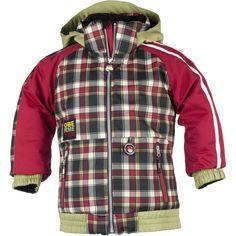 Obermeyer Slopestyle Ski Jacket (Toddler Boys') | Peter Glenn  220g of insulation = Toasty!
