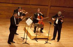 Emerson Quartet... Pleasure to the ears.