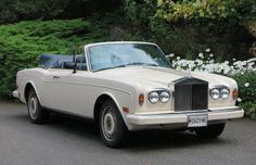 1987 LHD Rolls-Royce Corniche II Convertible