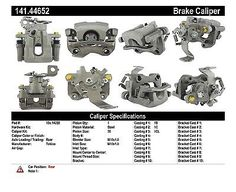 Premium Semi-Loaded Caliper-Preferred fits 2011-2013 Scion tC  CENTRIC PARTS