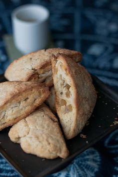 Ginger-lime coconut scones