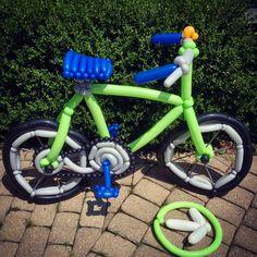 Day 319: #Pelatonia #ONEGOAL > #ENDCANCER #Balloons #BalloonAnimals#Bike #Bicycle