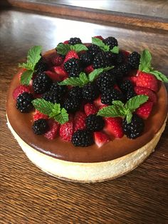 This is the best looking cheesecake I've ever made!